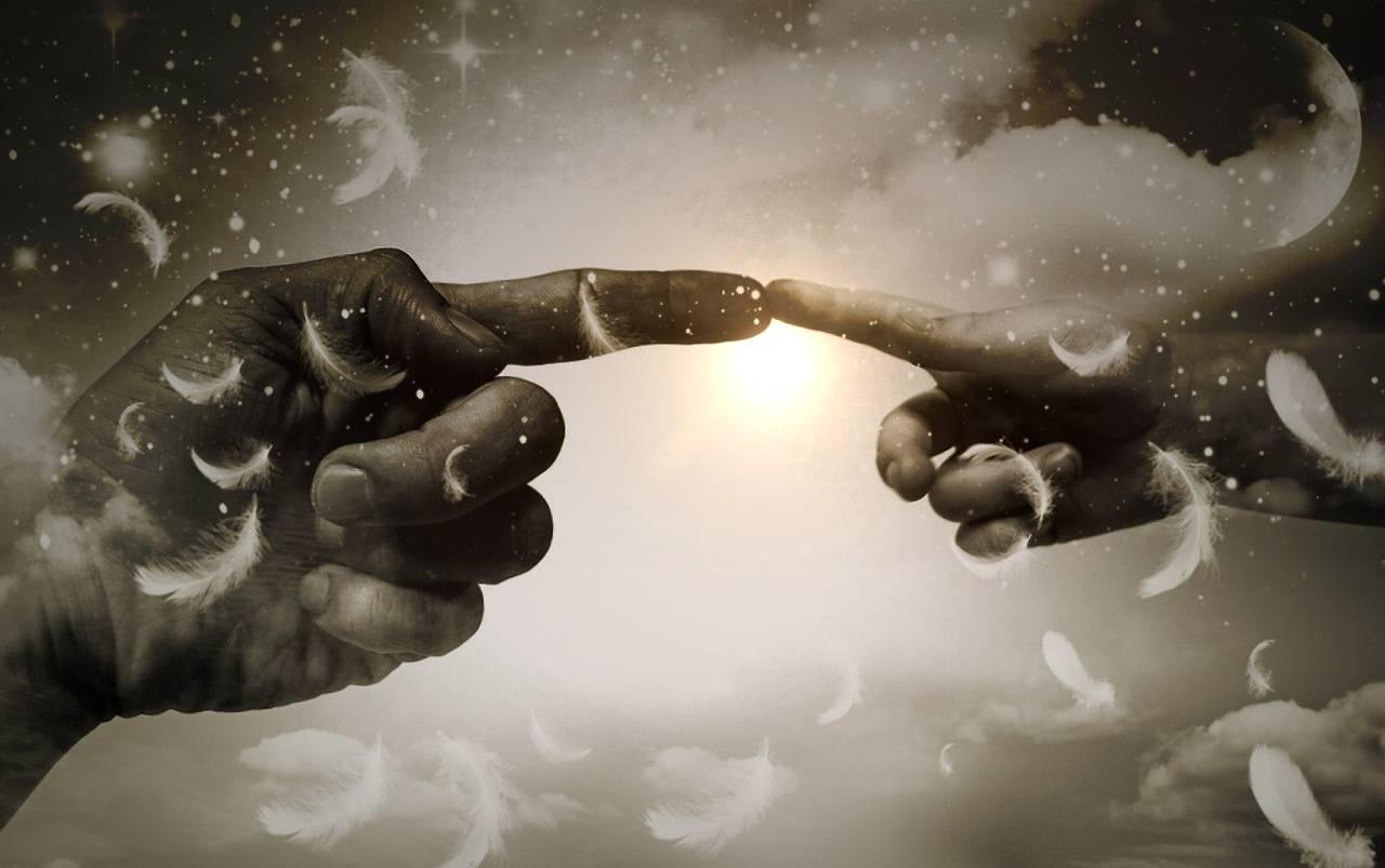 Spiritual Beings see God's hand everywhere!