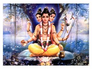 My Gurudev Shri Dattatreya.