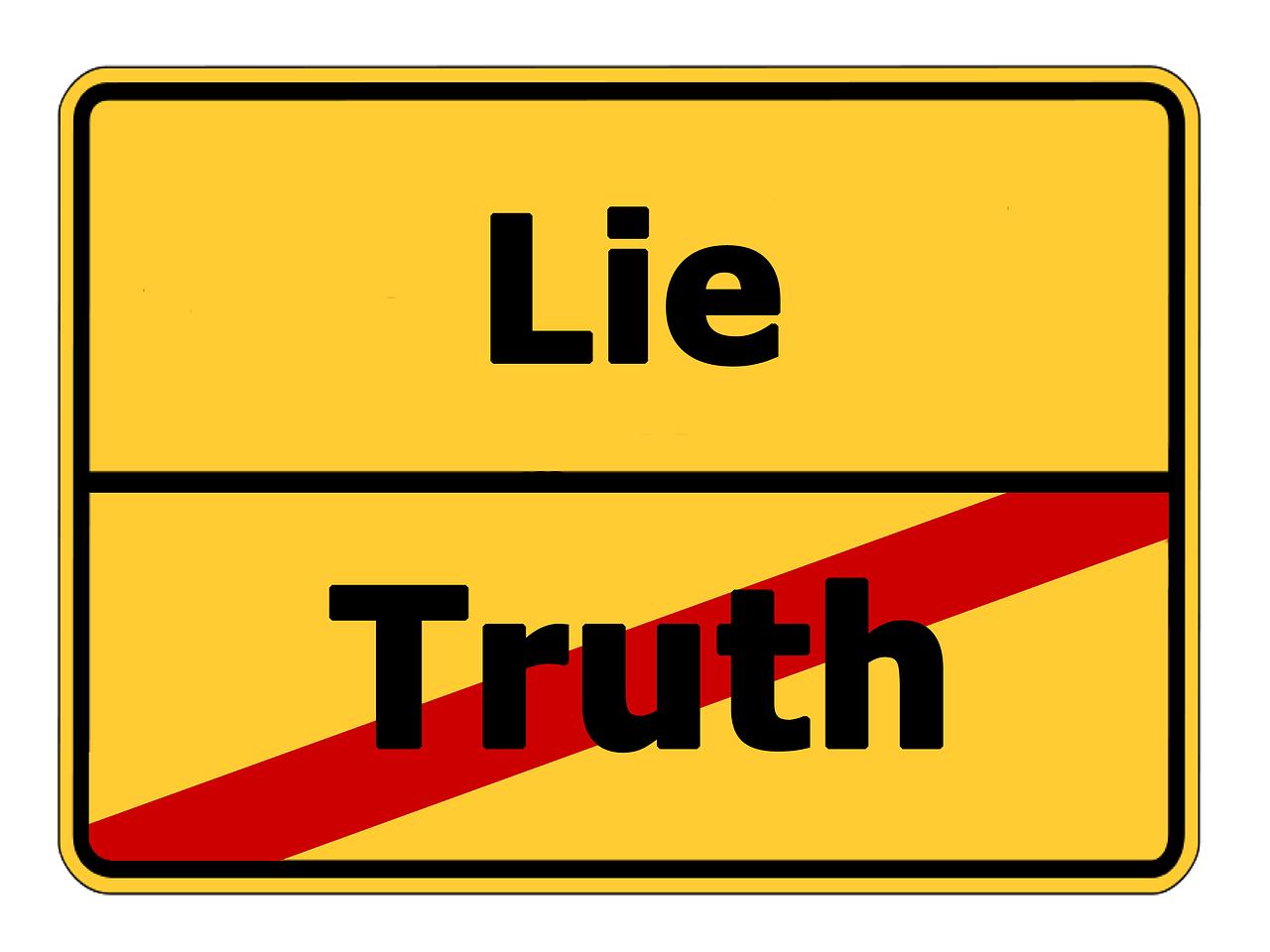 Lies Or Untruths?