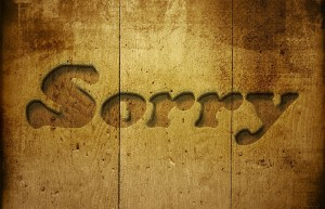 Apologetic Negations!