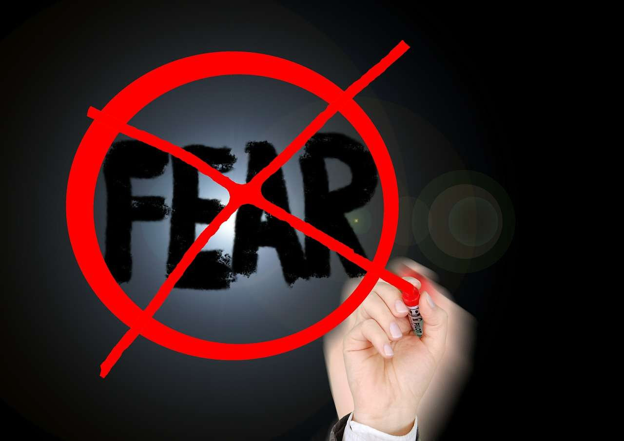 afraid of fear