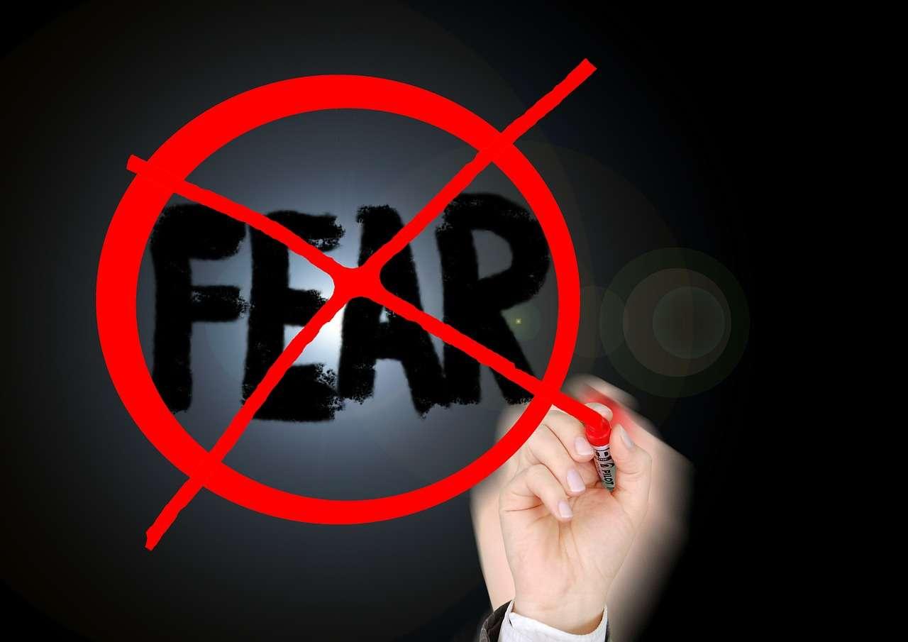 afraid of fear
