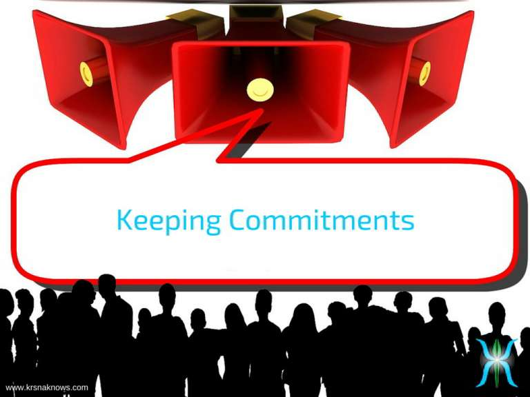 Keeping Commitments