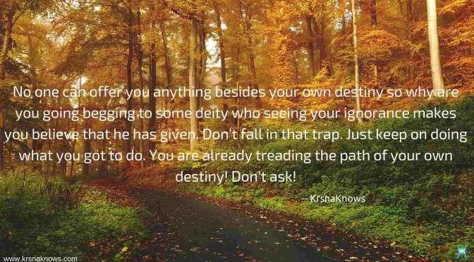Own Destiny