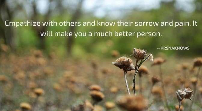 sorrow and pain