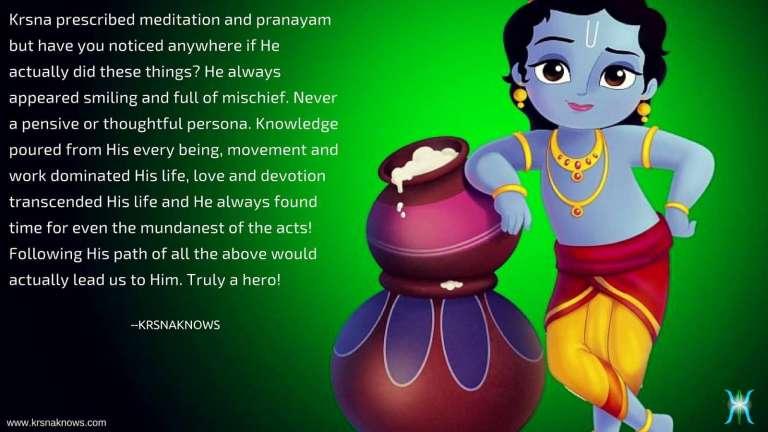 Attaining Krsna Only Through Devotion