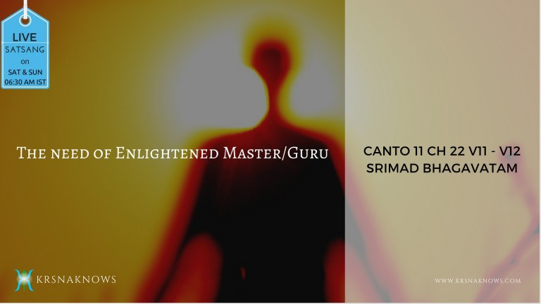 Canto 11: Ch22 Part02 – Srimad Bhagavatam