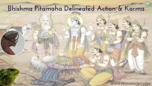 Bhishma Pitamaha Delineated Action and Karma – Teachings In Short