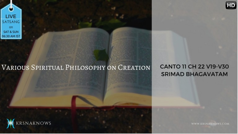Canto 11: Ch22 Part05 – Srimad Bhagavatam