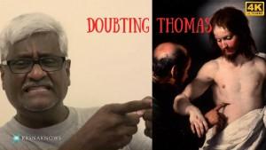 Doubting Thomas – Teachings in Short