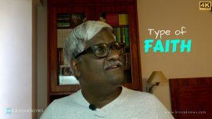 Type Of Faith – Spiritual Teachings In Short
